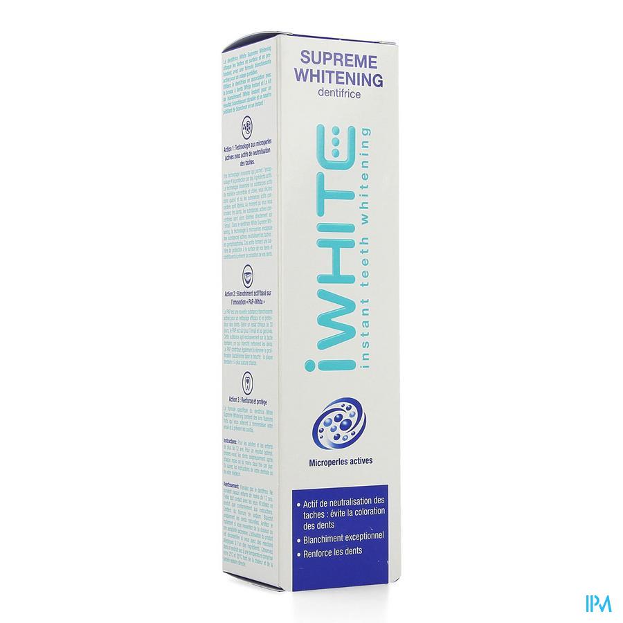 Dentifrice Iwhite Supreme Whitening Tube 75ml