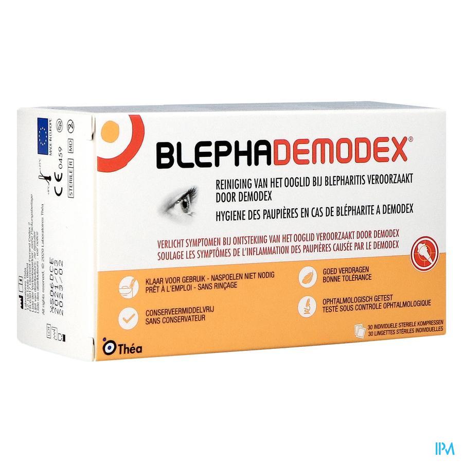Blephademodex Reinigende Oogkompressen 30