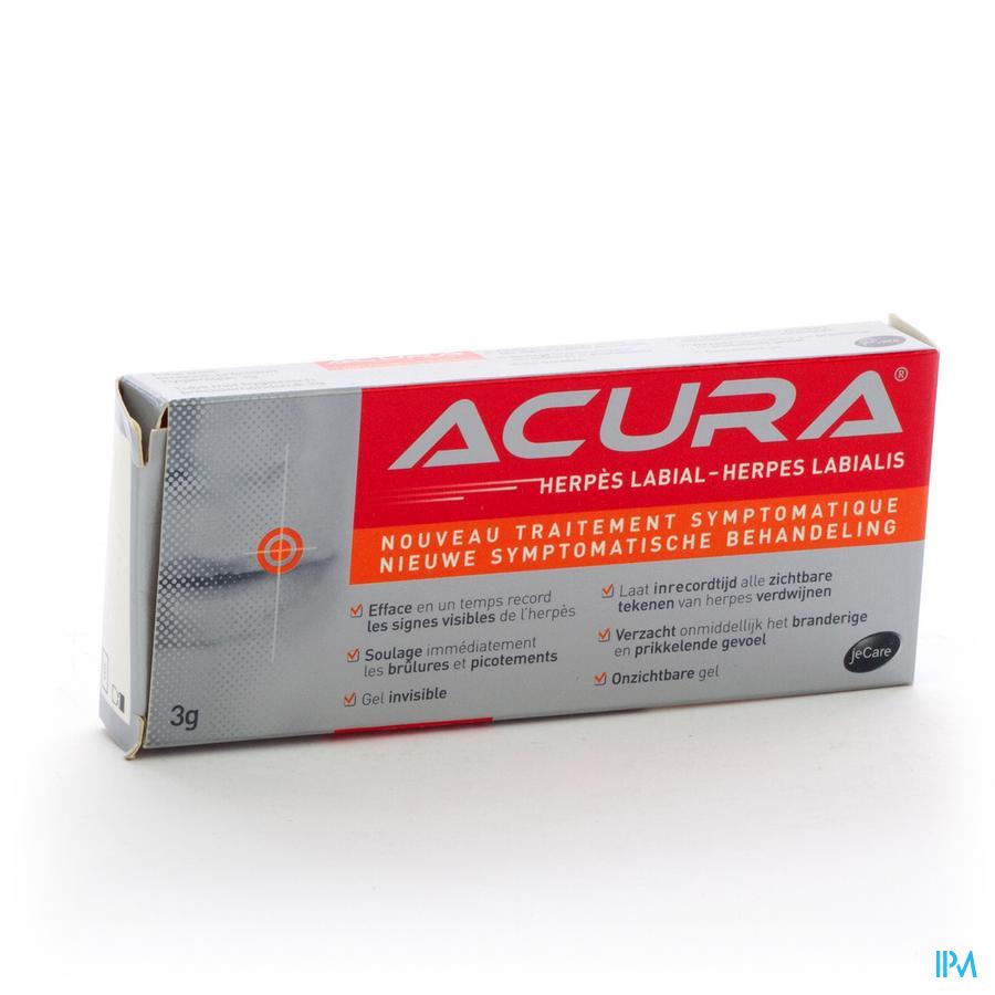 ACURA HERPES LABIALIS GEL TUBE 1X3G