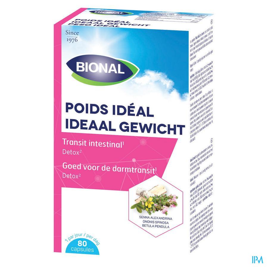 Bional Poids Ideal Caps 80