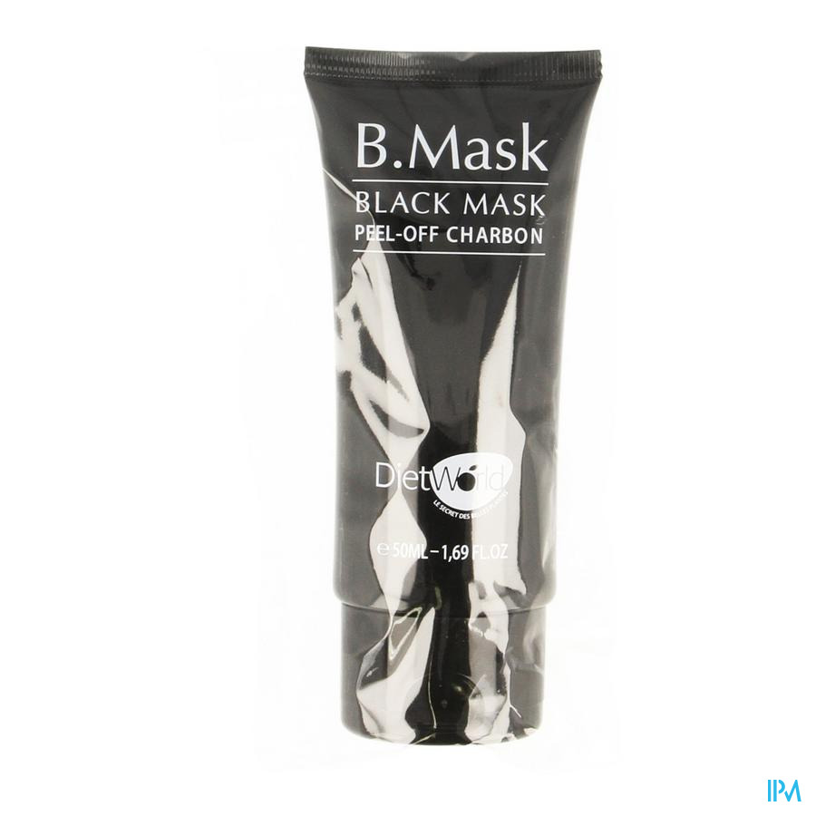 B Mask Black Mask Peel Off Kolen Tube 50ml