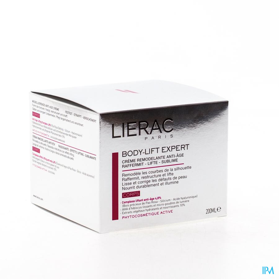 Lierac Body Lift Expert Modelage Corps Pot 200ml