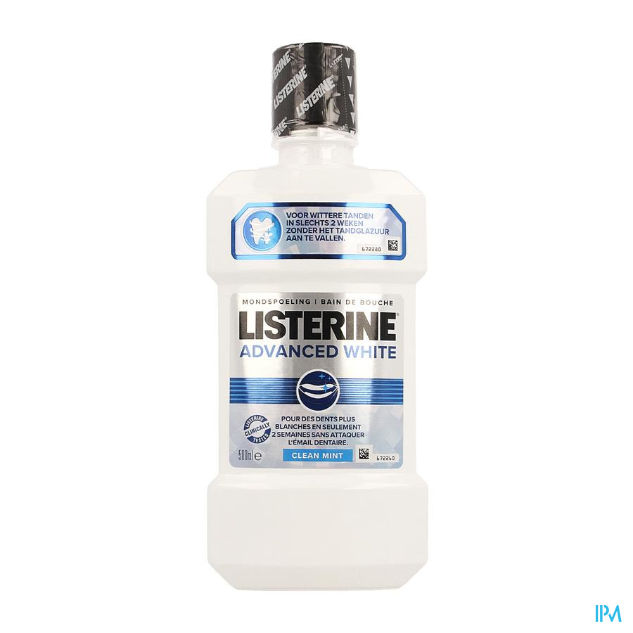 Listerine Advanced White Mondspoeling 500ml