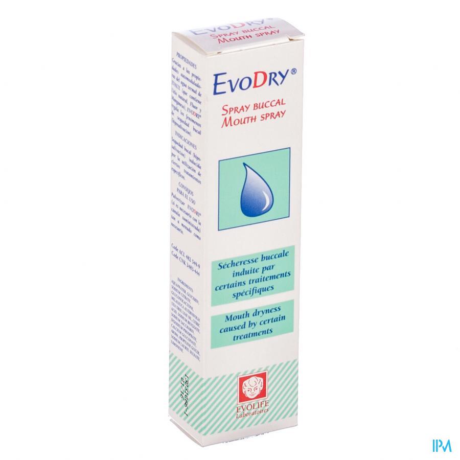 EVODRY MONDSPRAY FL 50ML