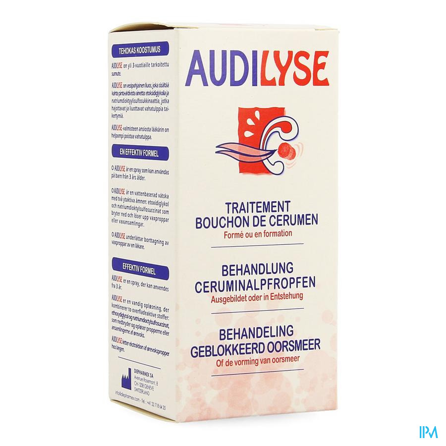 Audilyse Spray 20ml Cfr 3946084
