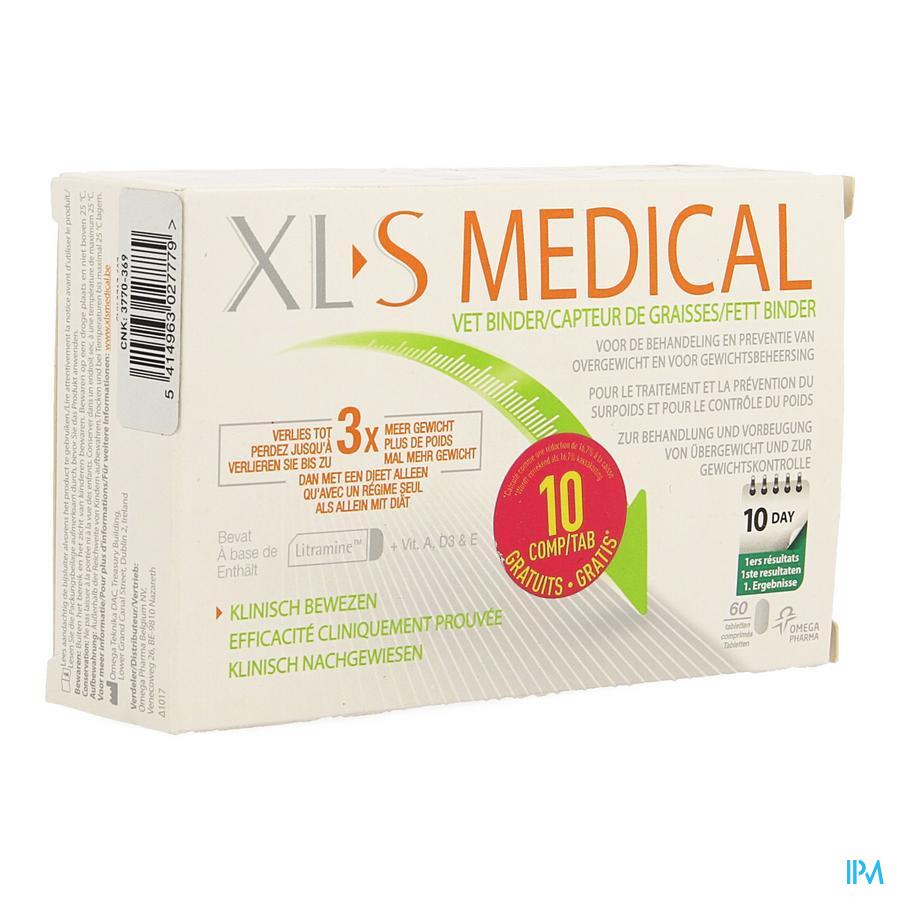 Xls Med. Vetbinder Comp 50 + 10 Gratis