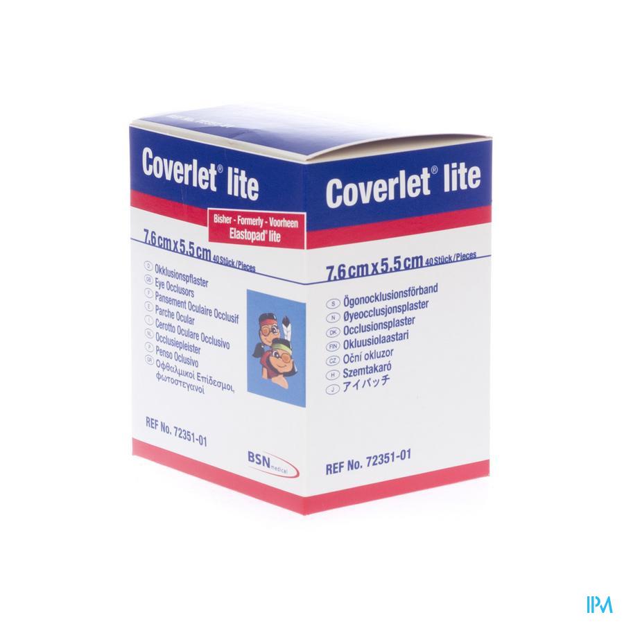 COVERLET LITE           7,6X5,5CM CHAIR 40 7235101