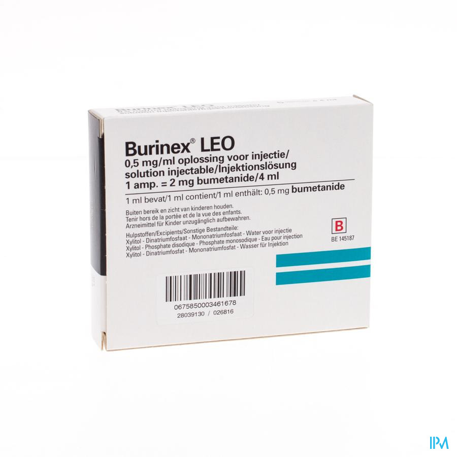 Burinex Amp 5 X 2mg/4ml