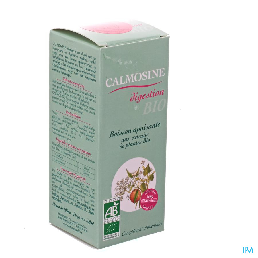 Calmosine Drink Rustgevend Plantextr.bio 100ml