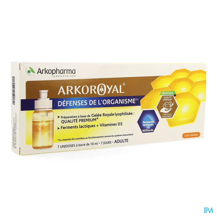 Arkoroyal Probiot. Ad Ruche Royale Doses 7x7,5ml