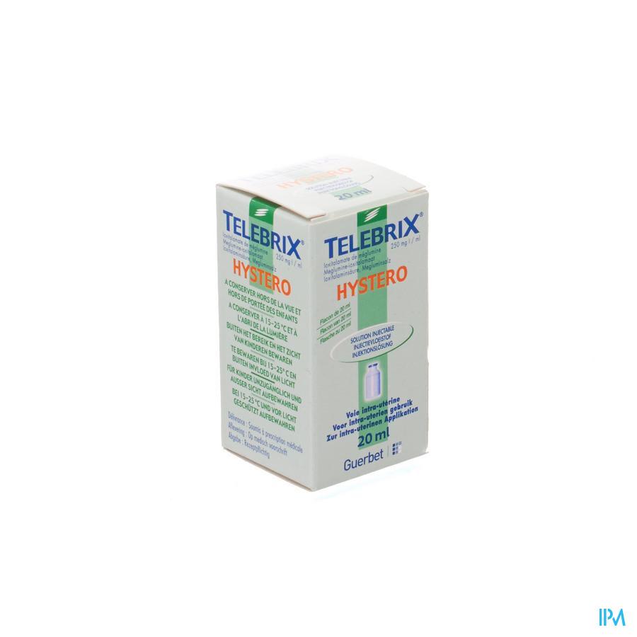 Telebrix Hystero 1 Fl Inj 20ml