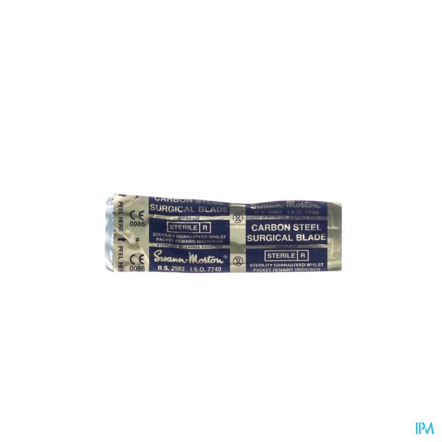 Scalpel S.m Mesje Steriel N10 1 Wm
