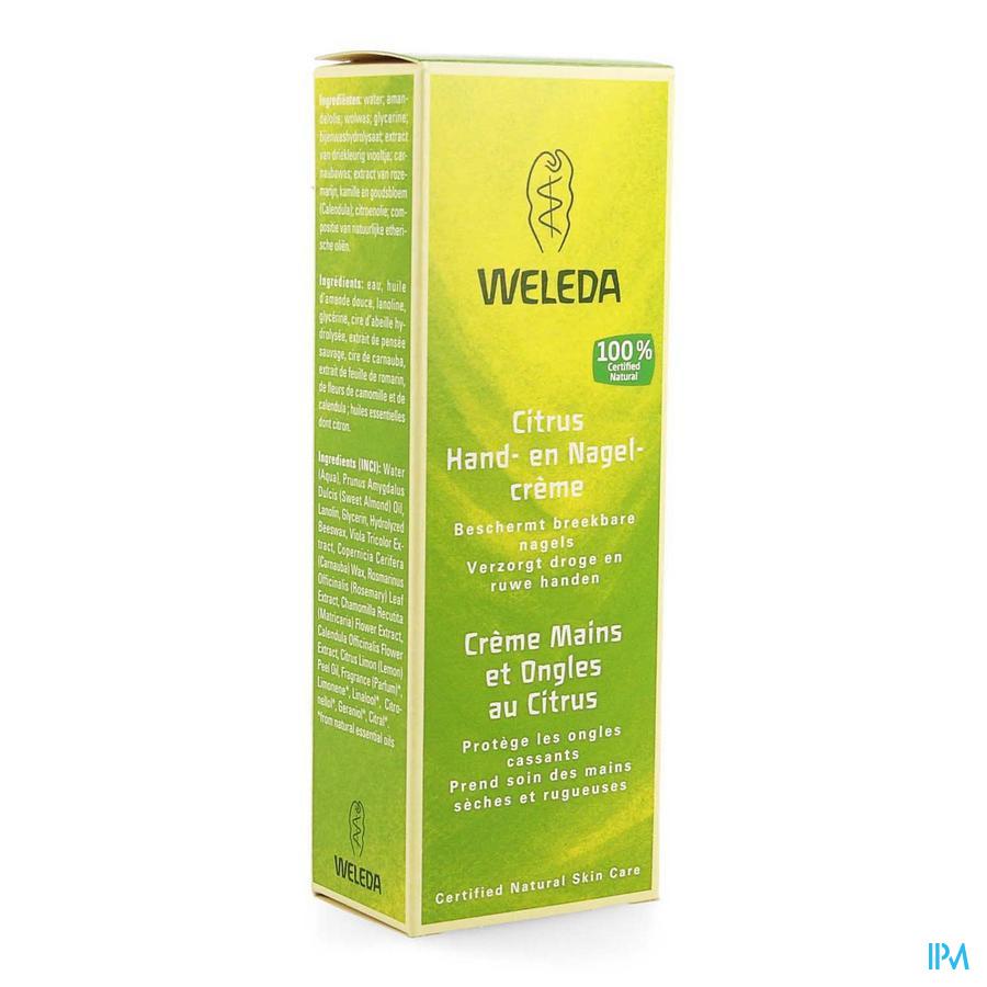 Weleda Hand-nagelcreme Citrus 50ml