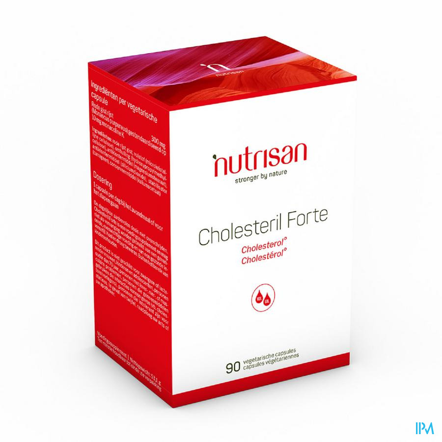 Cholesteril Forte Nf V-caps 90 Nutrisan