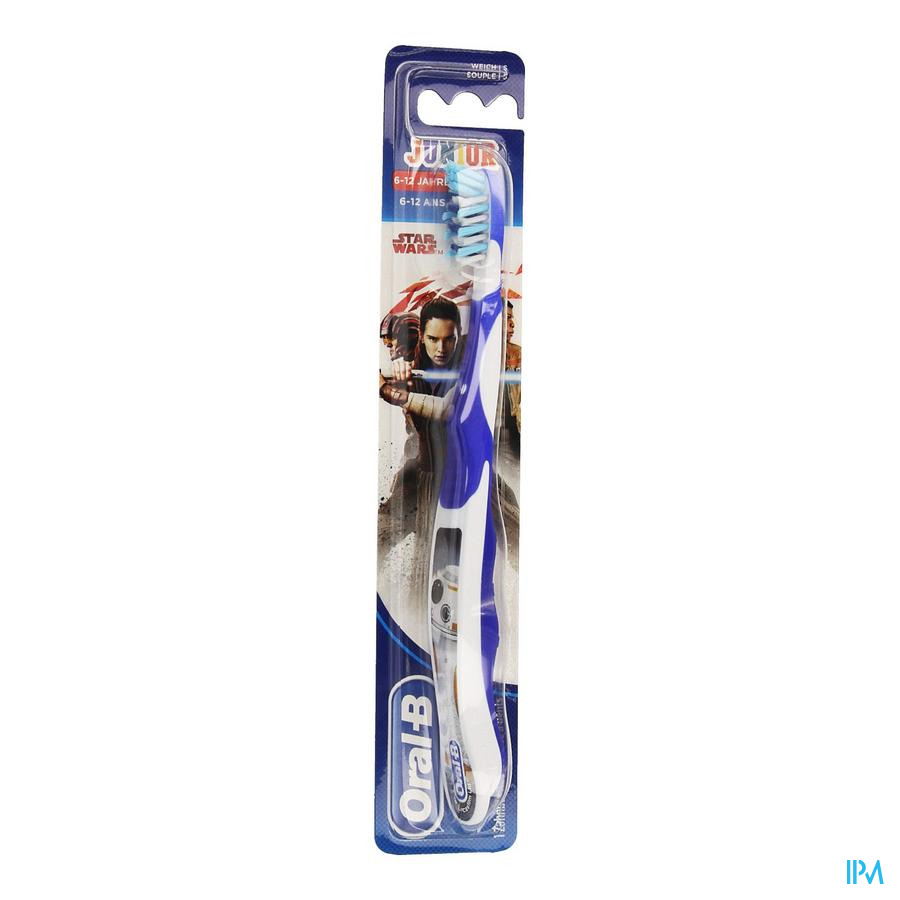 Oral B Tandenborstel Junior Star Wars +6jaar