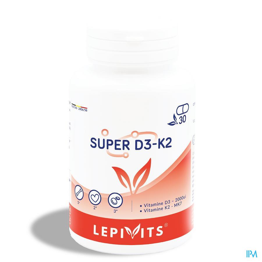 Lepivits Super D3-k2 Caps 30