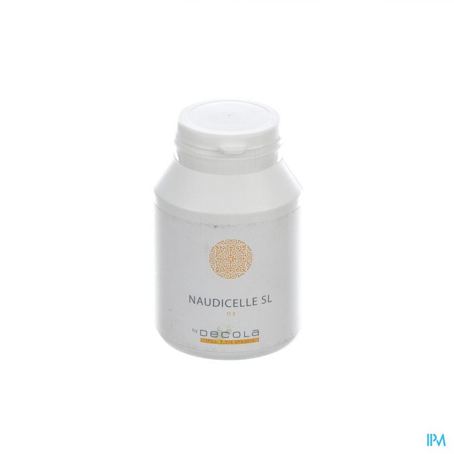Naudicelle Sl Huile Poisson+lecithine Nf Caps 100