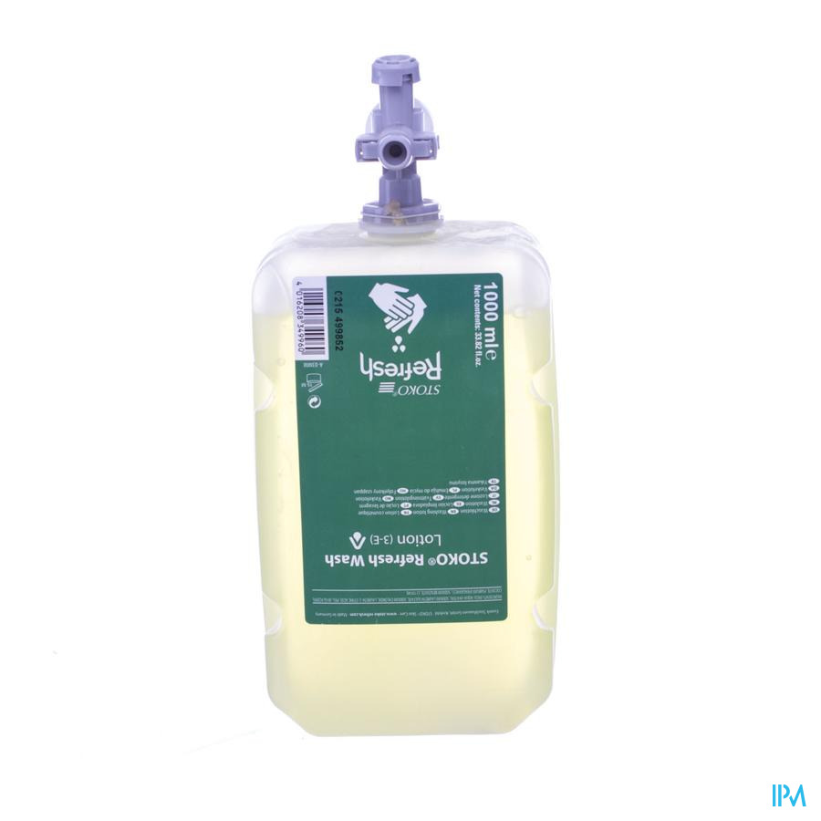 Stoko Refresh Wash Lotion 1000ml (3-e)