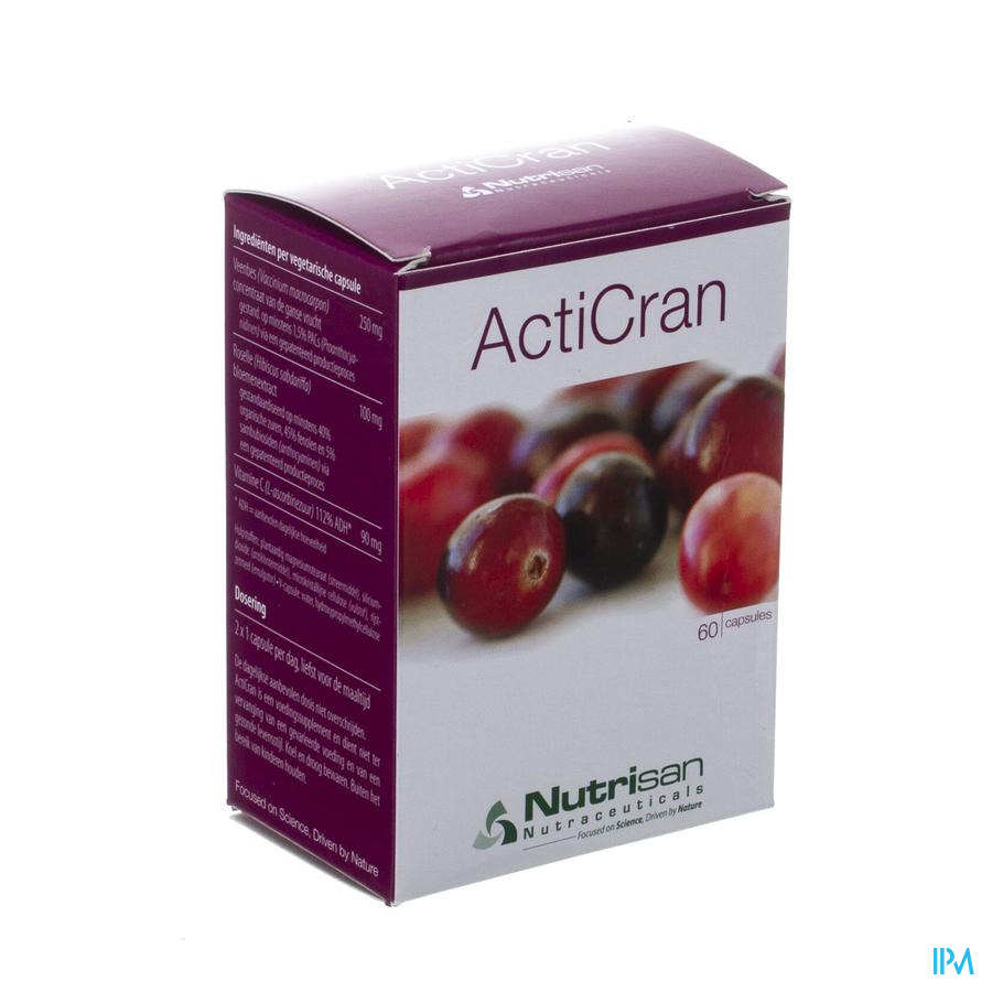 Acticran 60 V-caps Nutrisan
