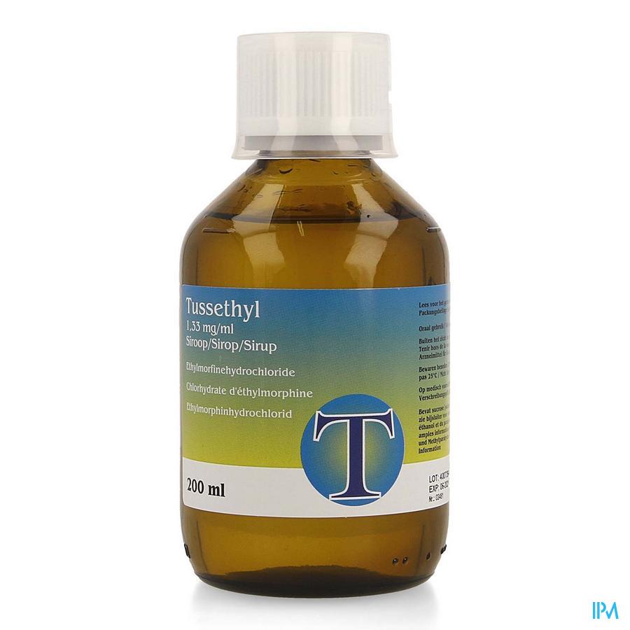 Tussethyl Siroop 200ml