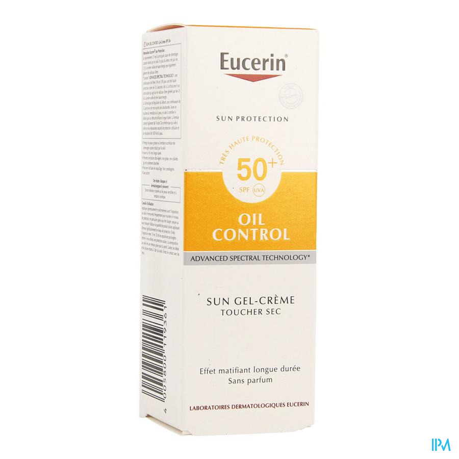 Eucerin Sun Oil Control Ip50+ Dry Touch 50ml
