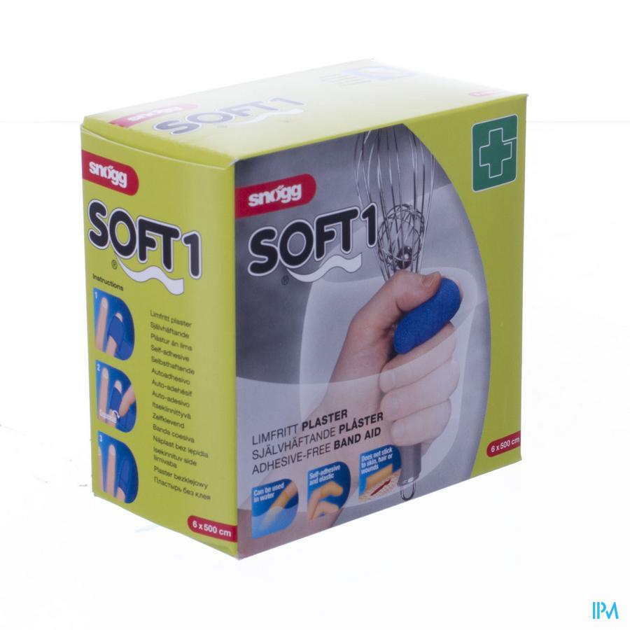 Soft Snogg 6cmx5m Blauw