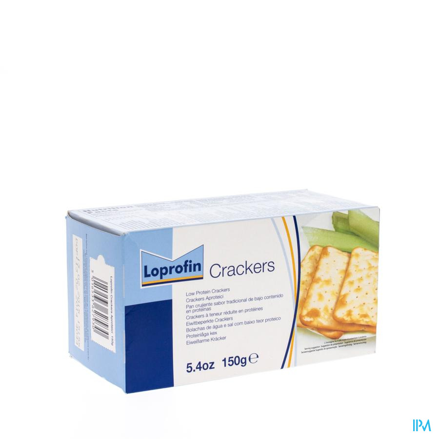 Loprofin Crackers 150 gr  -  Nutricia