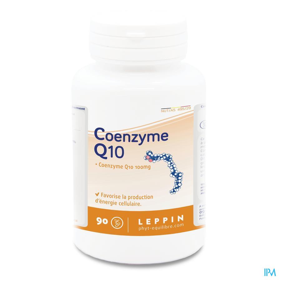 Leppin Coenzyme Q10 100mg Gel 90