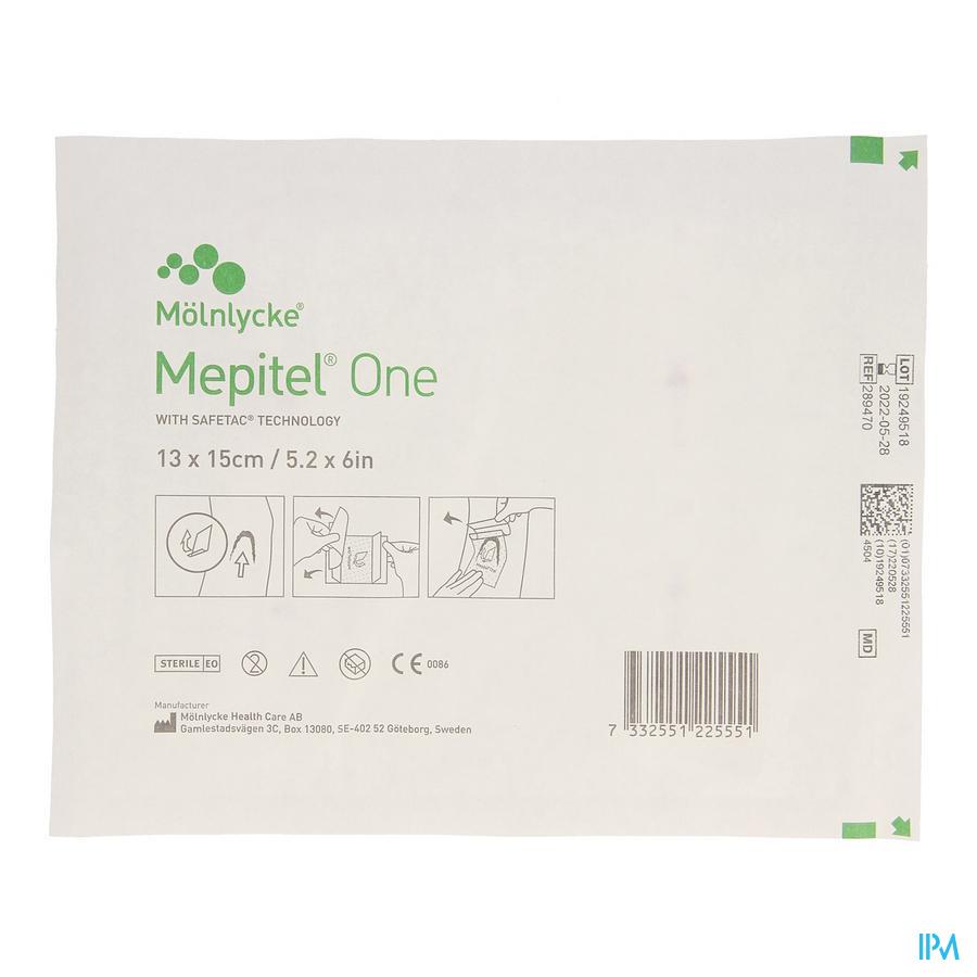 MEPITEL ONE STER 13X15CM 5 ST 289470