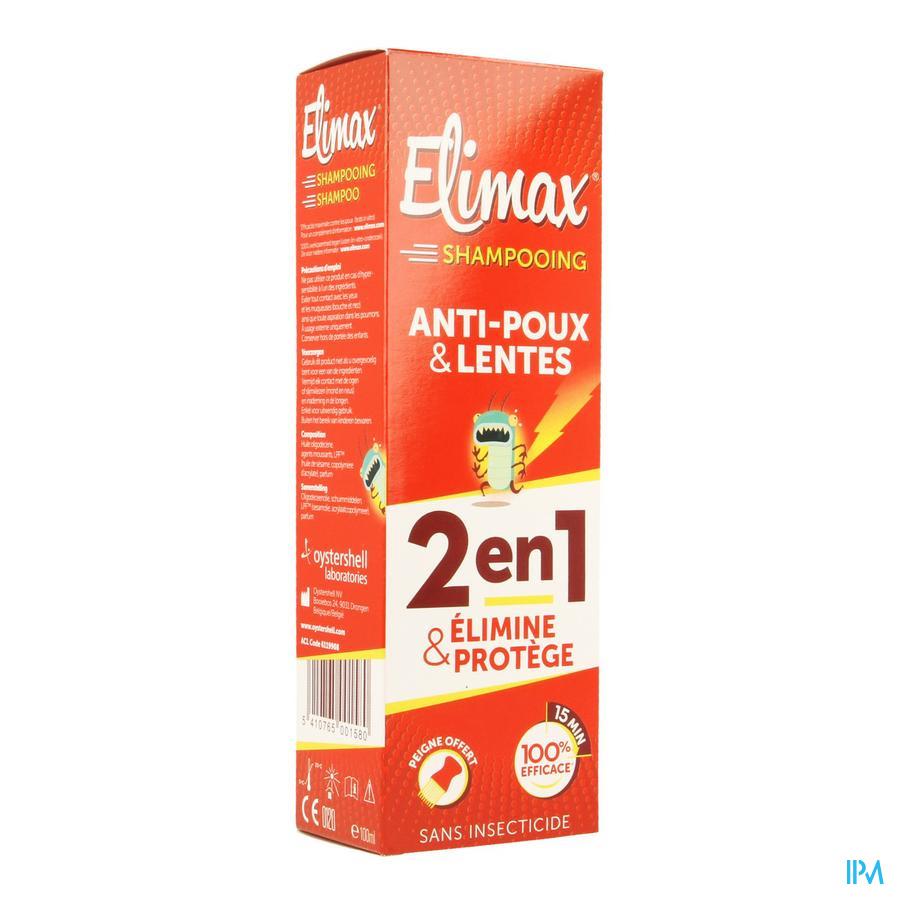 Elimax Shampoo A/poux Fl 100ml