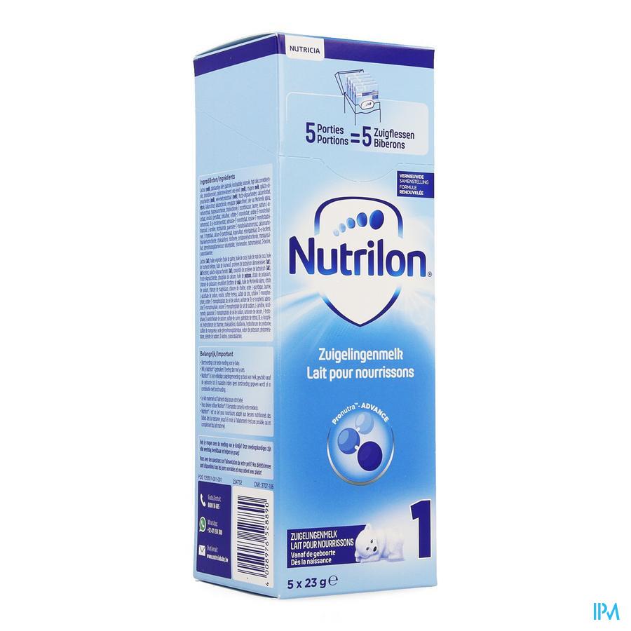 Nutrilon 1 5x23g