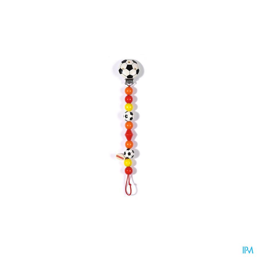 Heimess Attache Sucette Bois Football H5014