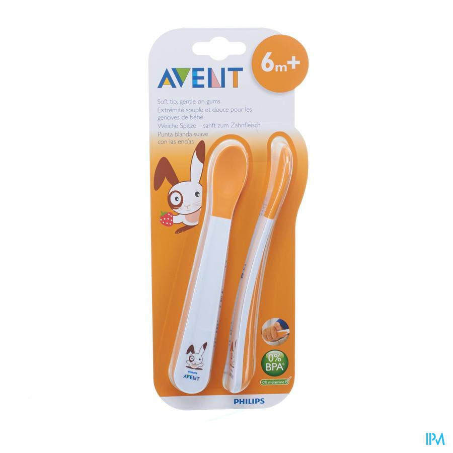 Avent Zachte Voedingslepel +6m 2