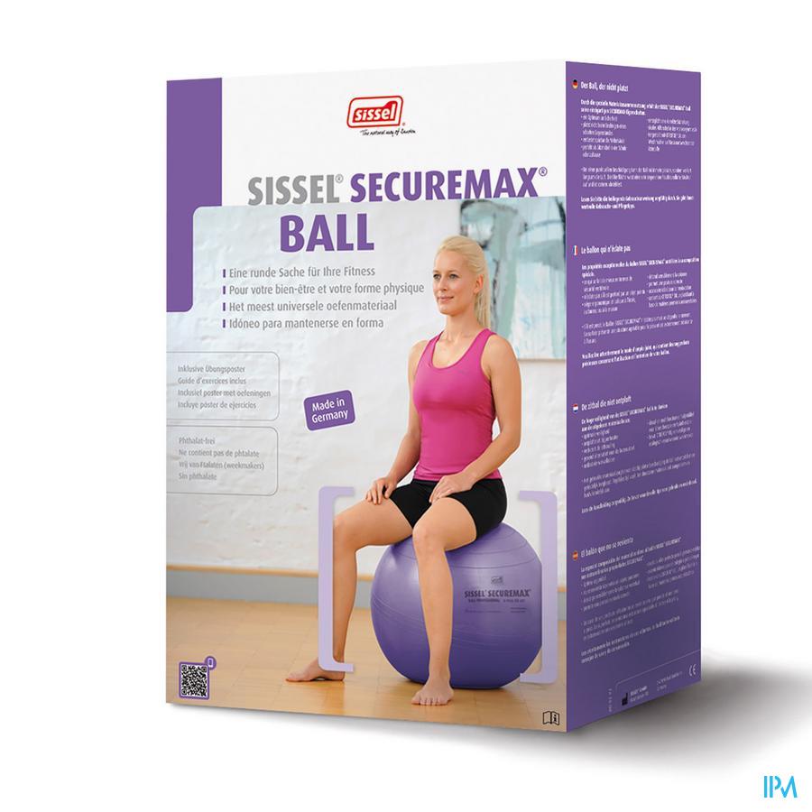 Sissel Ball Securemax Zitbal Diam.65cm Blauw-paars