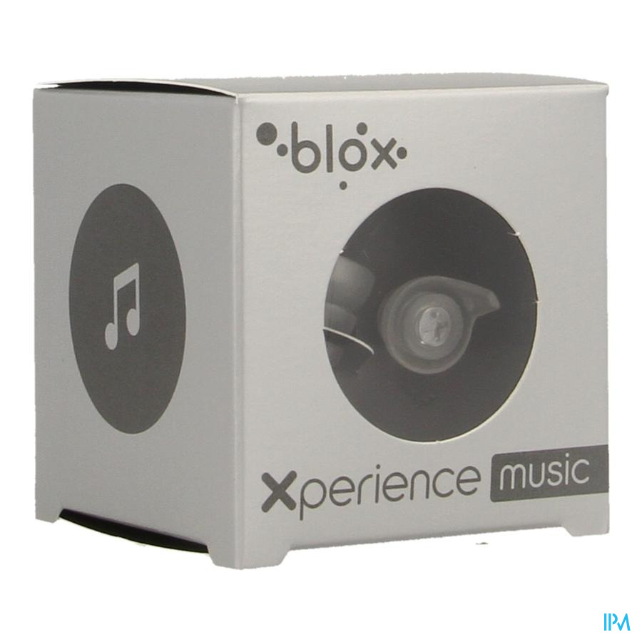 Blox Xperience Music Bouch.or. Transparent 1 Paire