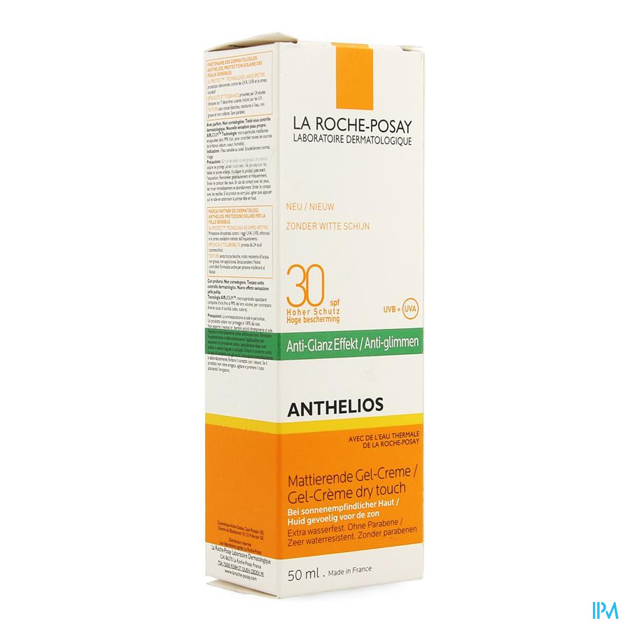 La Roche Posay Anthelios Dry Touch Spf30 Ap Nf 50ml