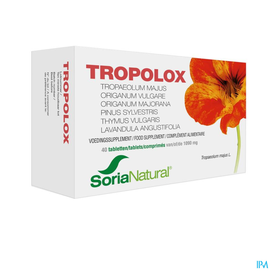 Soria Tropolox 40 tabl.