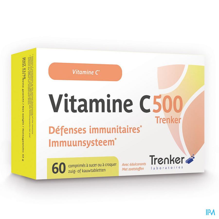 Vitamine C 500 Comp 60 Trenker