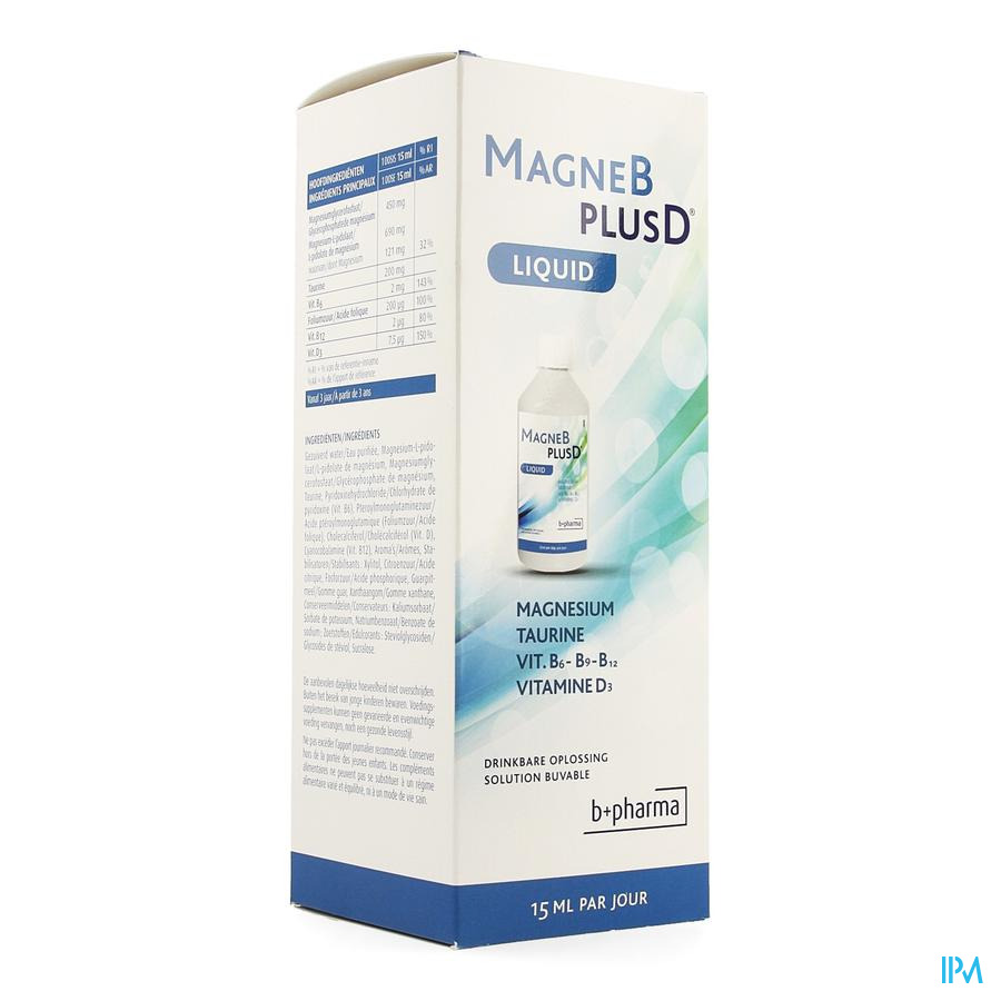 Magne B Plus D Liquid 500ml