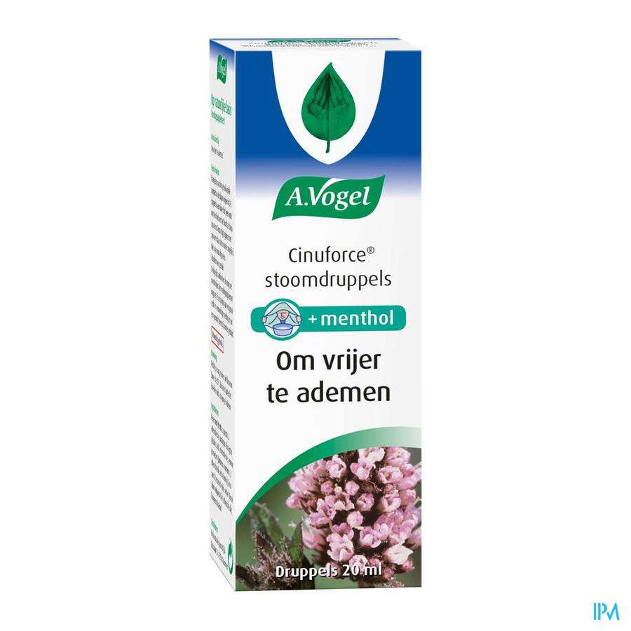 Vogel Cinuforce Stoomdruppels 20 ml  -  Biohorma