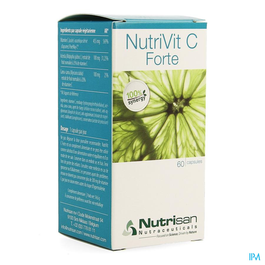 Nutrivit C Forte 60 V-caps  Nutrisan