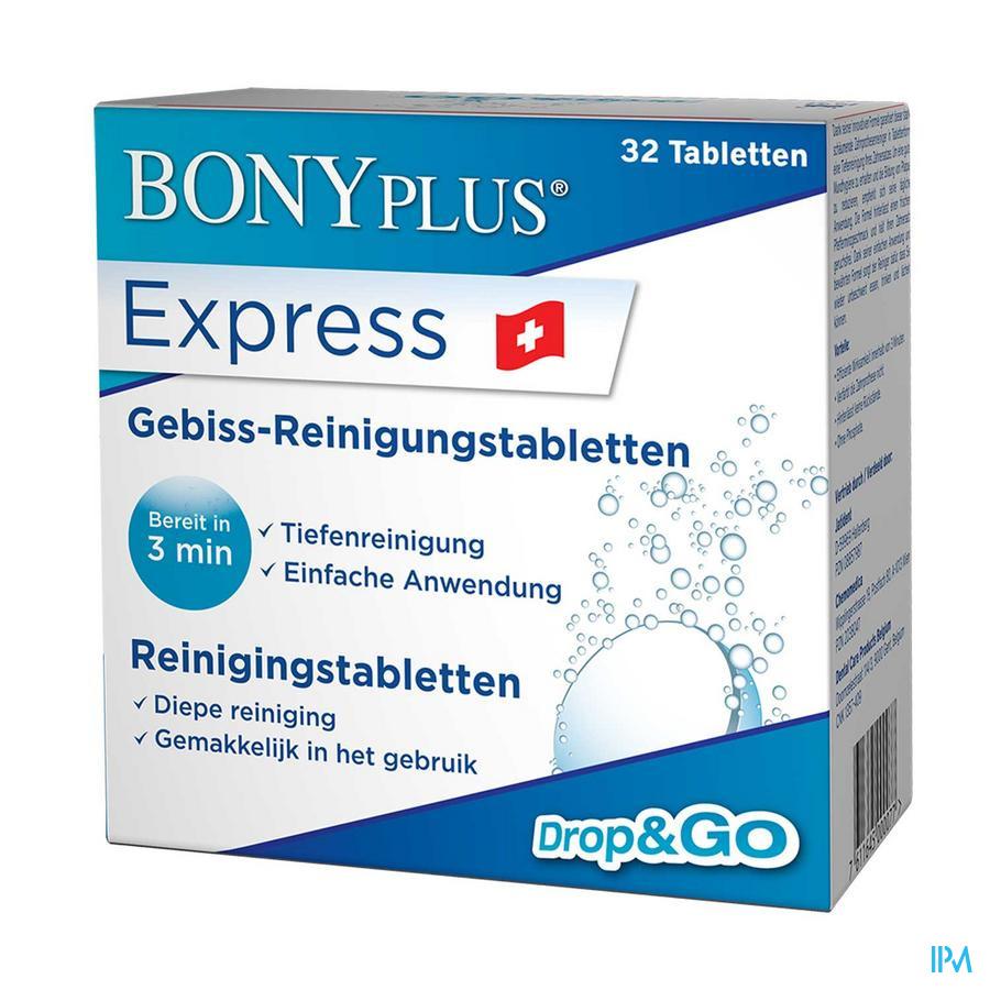 Bonyplus Reinigingstabletten Voor Tandprothese 32
