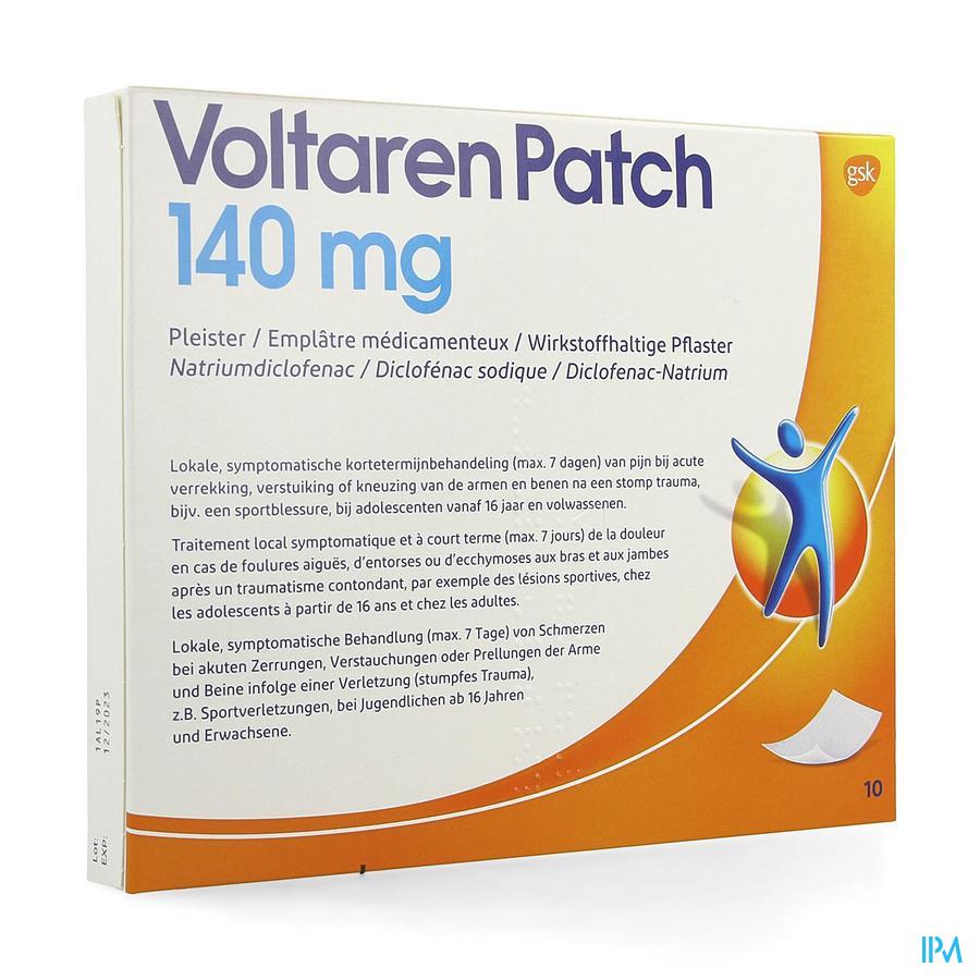 Voltaren Patch 140mg Pleister 10