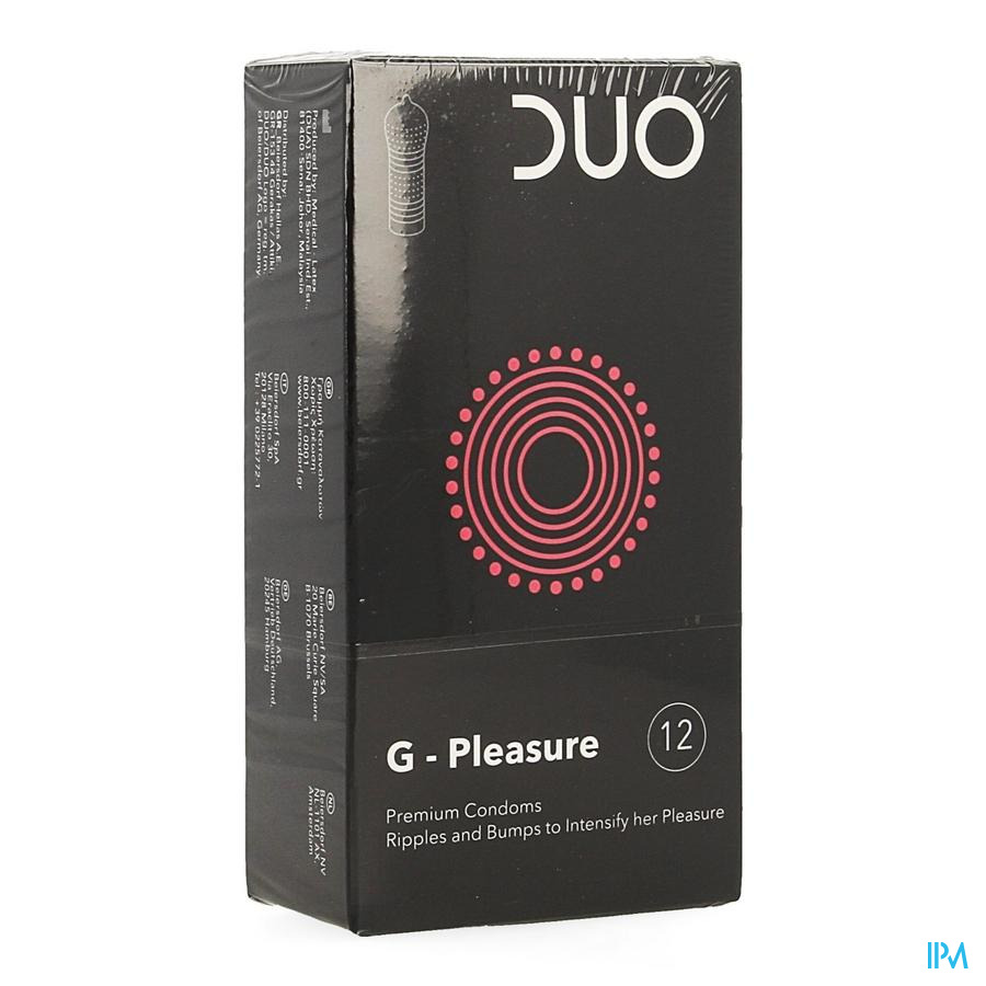 Duo Condom g-pleasure 12