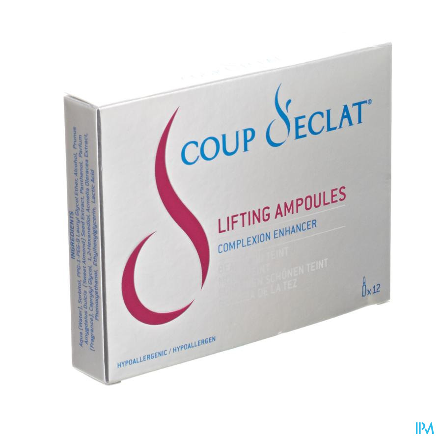 Coup D'eclat Lifting Beaute Teint Amp 12x1ml 30701