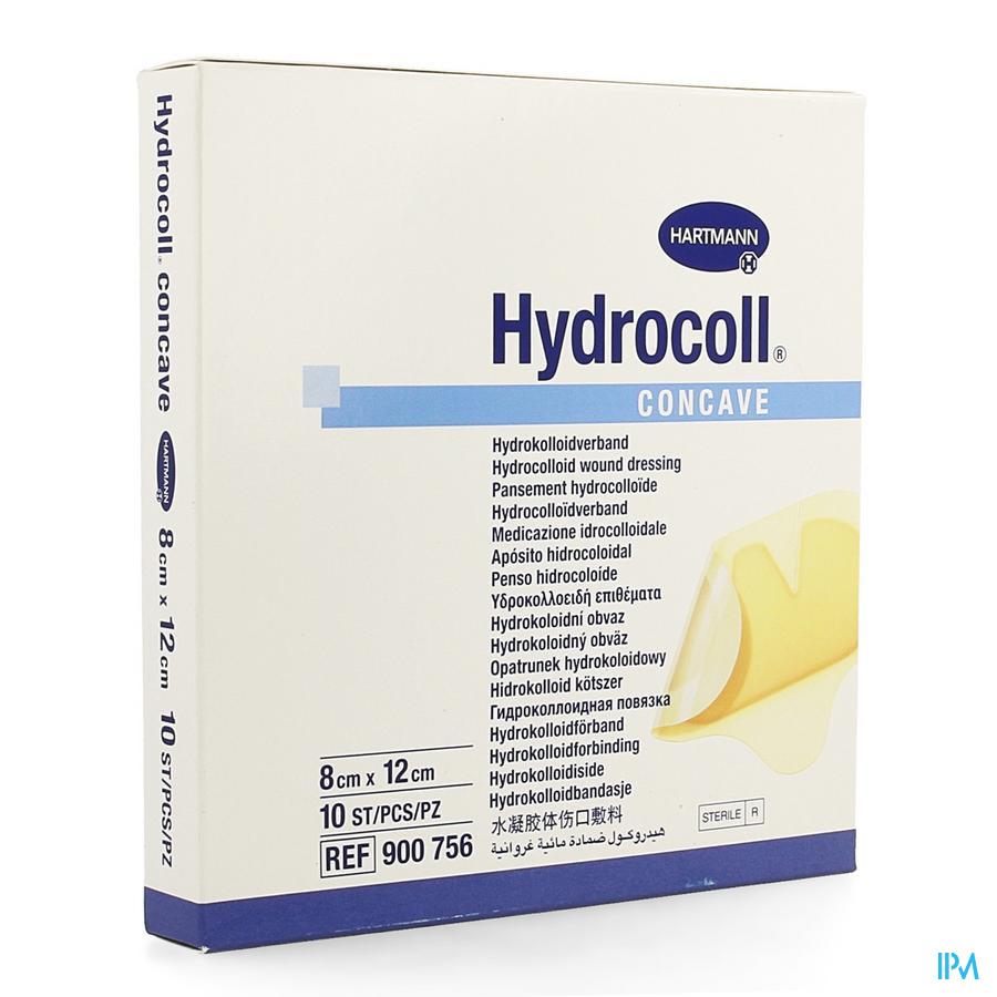 Hydrocoll Concave 8x12cm 10 9007563