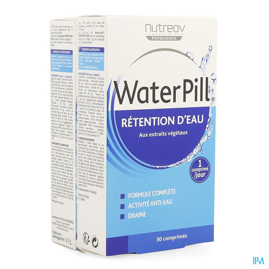 Waterpill Vochtretentie Duo Comp 2 X 30 Blister