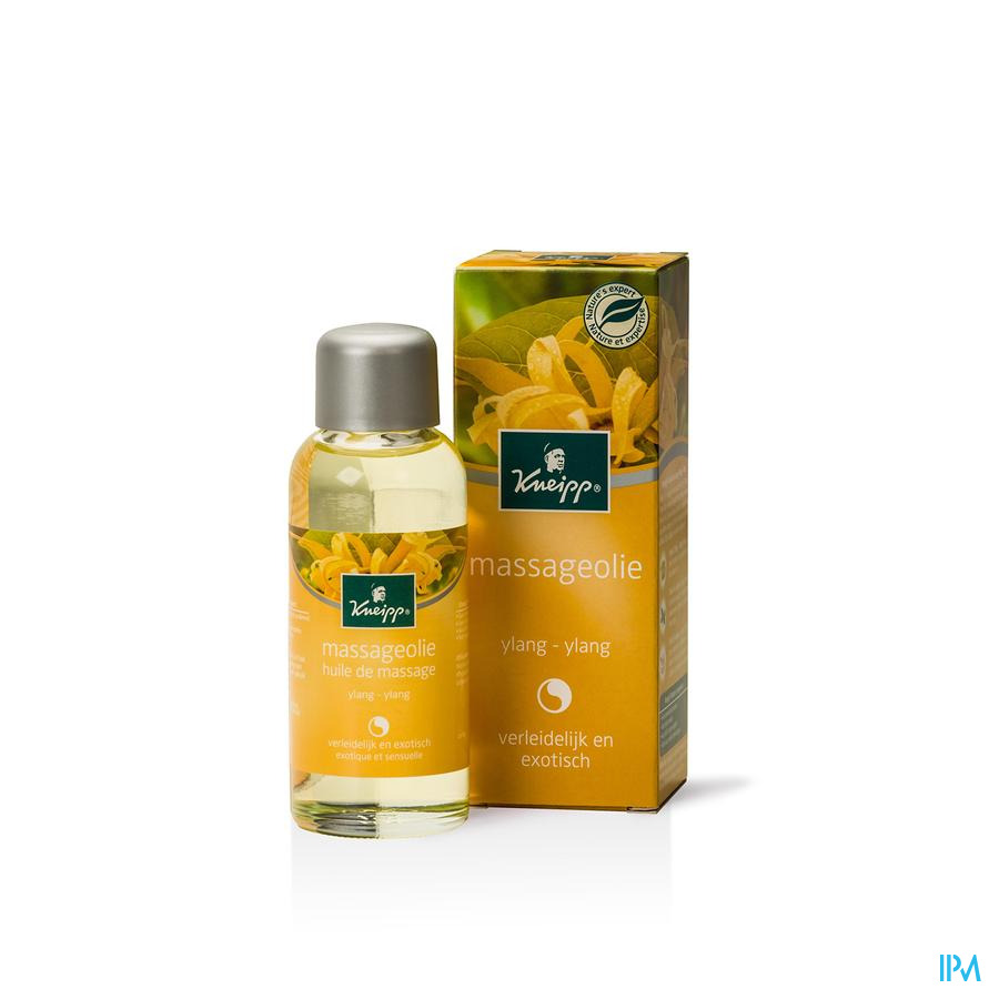 Kneipp Massage Olie Ylang Ylang 100ml