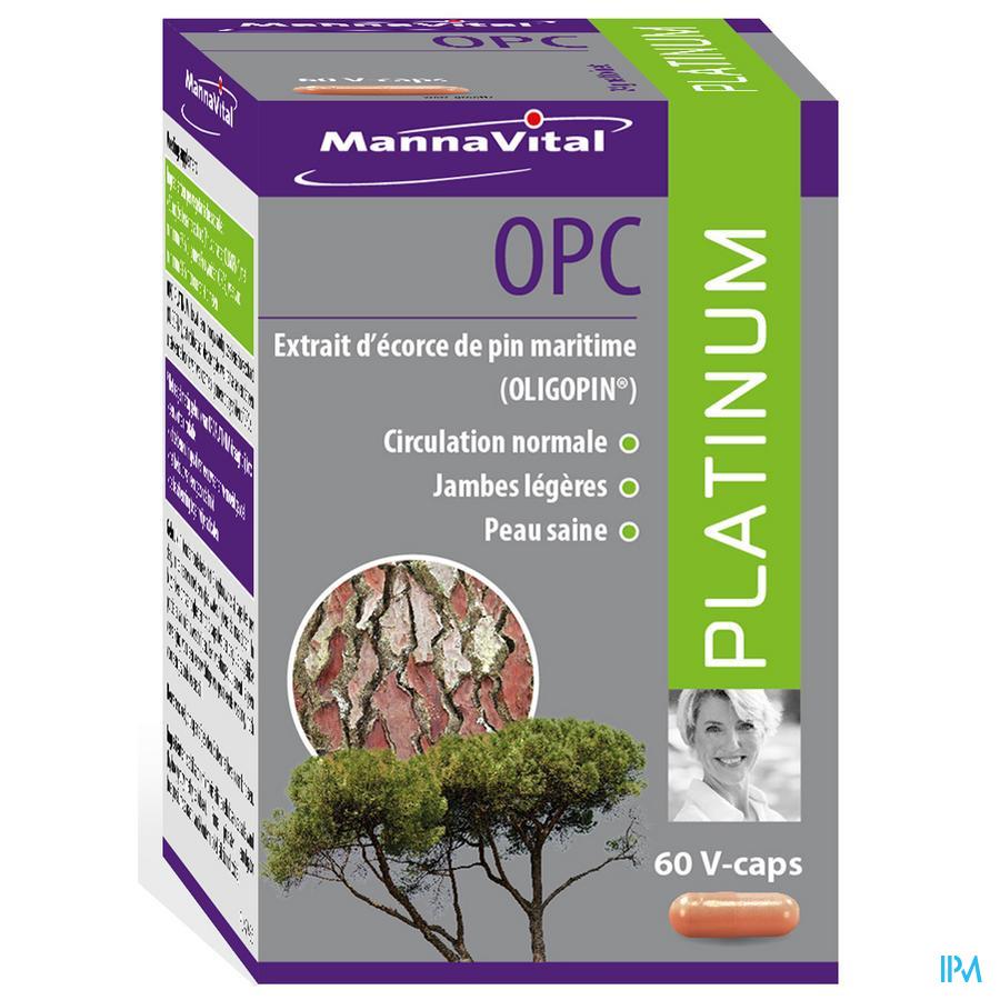 Mannavital Opc Platinum V-caps 60