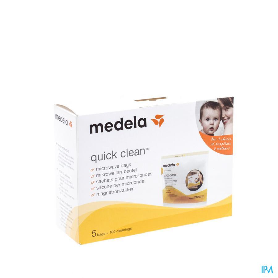 Medela Quick Clean Sach Sterilisat. Micro Ondes 5